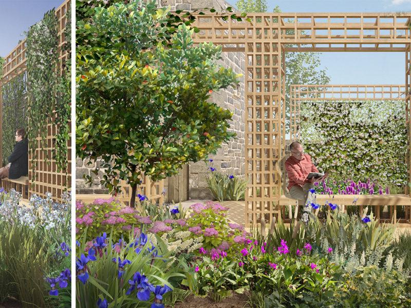 RIAS - Orangery Garden - 3d visualizations